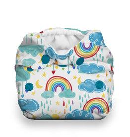 Thirsties Thirsties - Natural Newborn AIO Snap - Rainbow