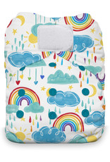 Thirsties Thirsties - Natural One Size AIO H&L - Rainbow