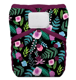 Thirsties Thirsties One Size Pocket Diaper H&L Floribunda