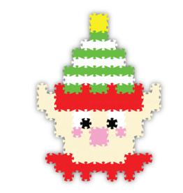 Fat Brain Toy Co Holly Jolly Jixelz - Elf