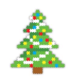 Fat Brain Toy Co Holly Jolly Jixelz - Christmas Tree