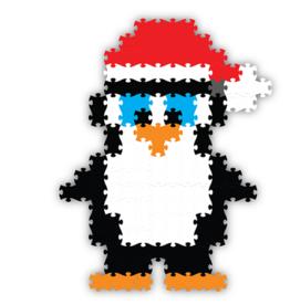 Fat Brain Toy Co Holly Jolly Jixelz - Penguin