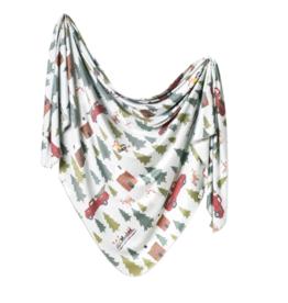 Copper Pearl Copper Pearl - Knit Swaddle Blanket - Kringle