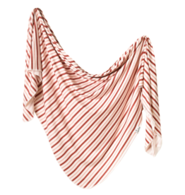 Copper Pearl Copper Pearl - Knit Swaddle Blanket - Cinnamon