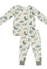 Angel Dear - Louge Wear Set -  Crayon Dinosaur