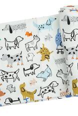 Angel Dear Cool Pups Swaddle Blanket