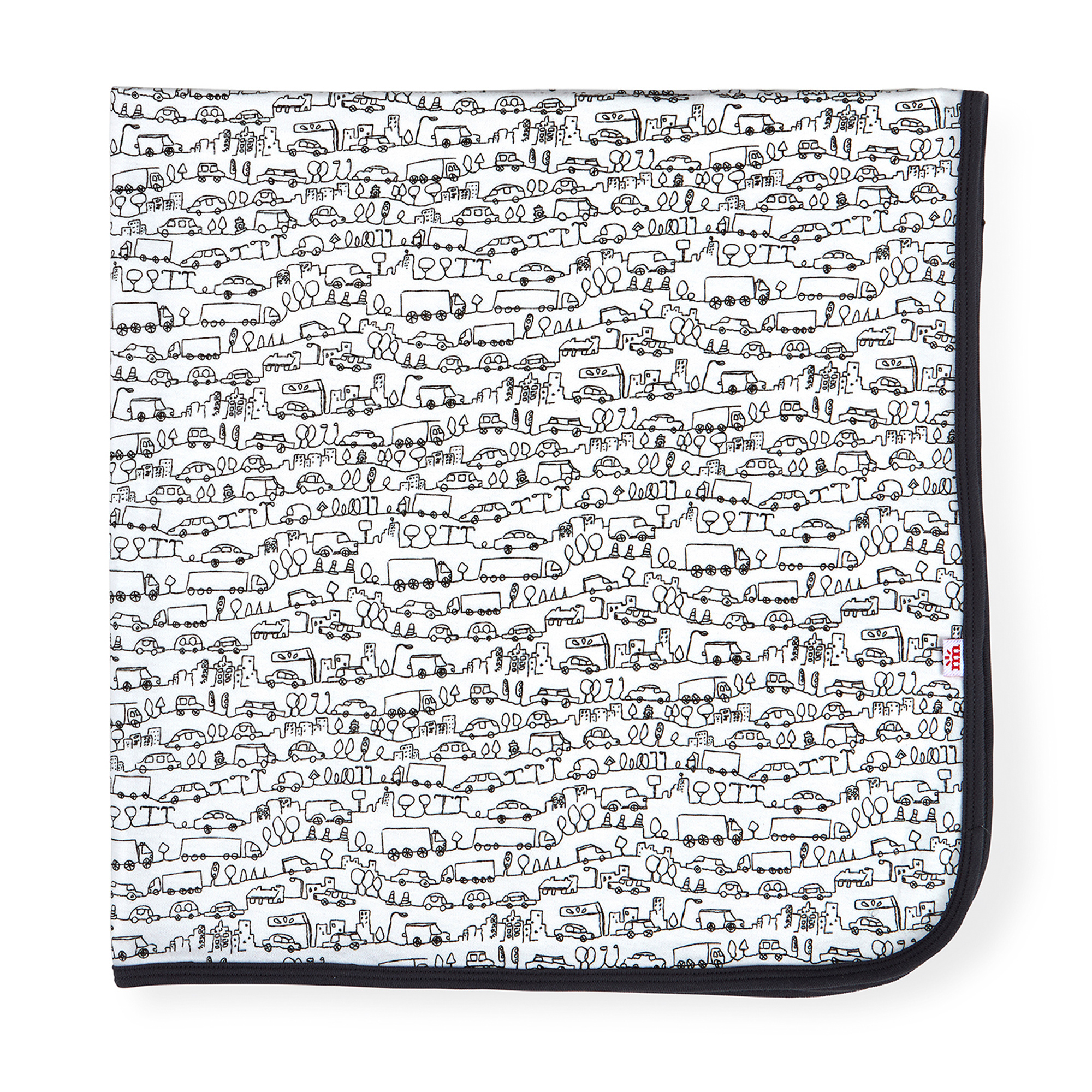 Magnetic Me Magnetic Me - Organic Cotton Swaddle Blanket - Going Places