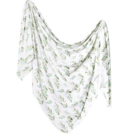 Copper Pearl Copper Pearl - Knit Swaddle Blanket - Fern