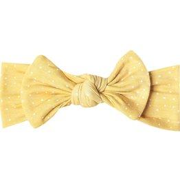Copper Pearl Copper Pearl - Knit Headbow - Marigold