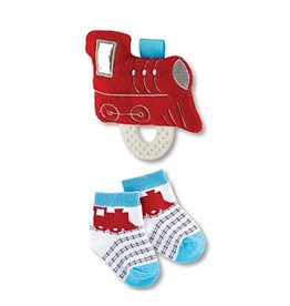 Teether Toy and Socks - Train