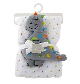 Blanket & Toy Set - Dinosaur