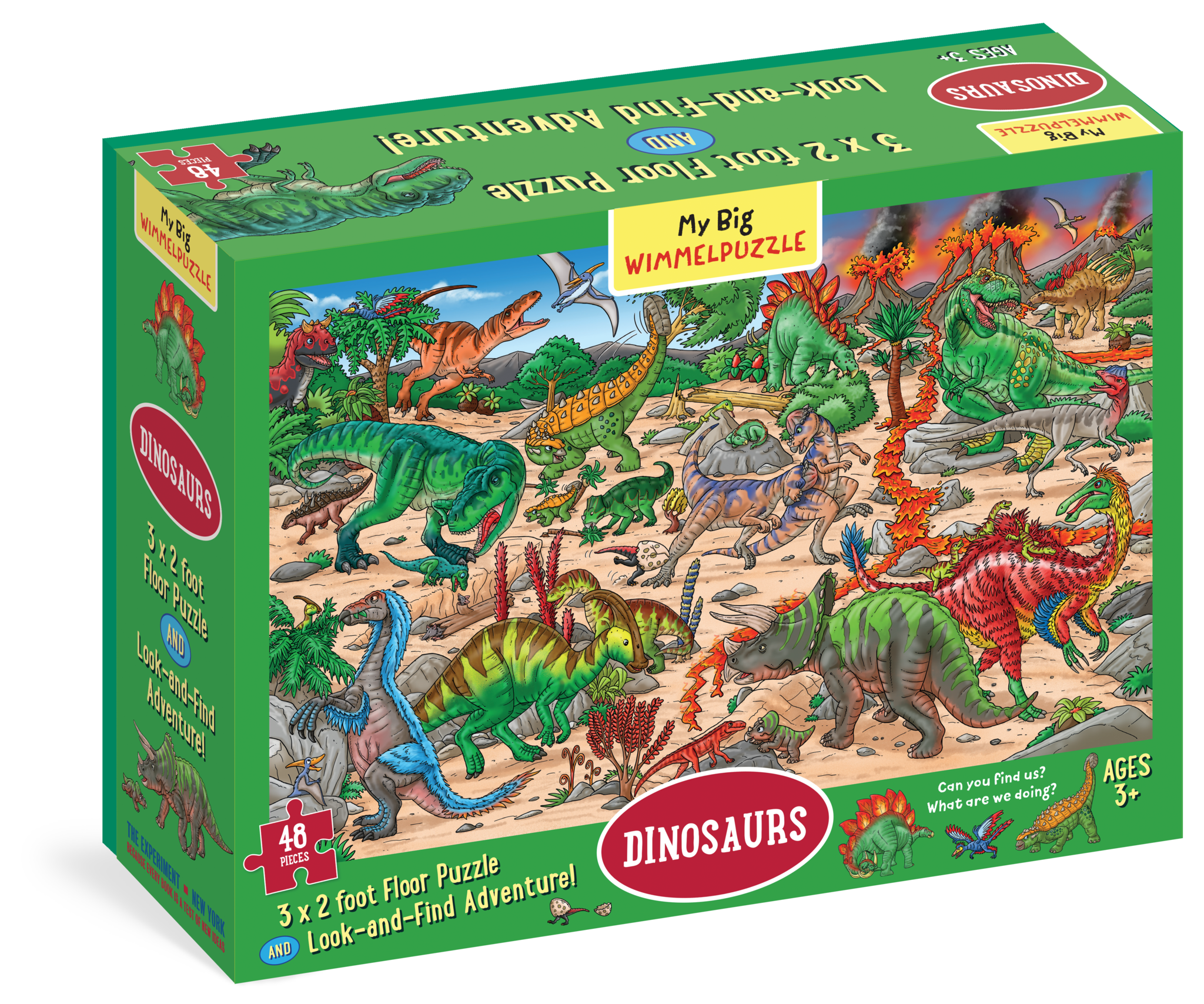 My Big Wimmelpuzzle - Dinosaurs