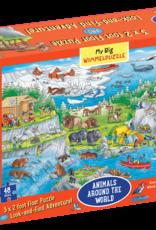 My Big Wimmelpuzzle - Animals Around the World