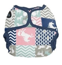 Imagine Imagine - Newborn Diaper Cover - Unicorn Dreams