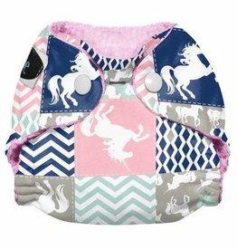Imagine Imagine - NB StayDry All-in-One - Unicorn Dreams