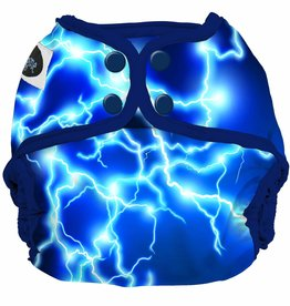 Imagine Imagine - Newborn Diaper Cover - Lightning Strikes