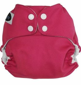 Imagine Imagine - StayDry One Size Pocket Diaper - Raspberry