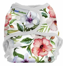 Best Bottom - Diaper Cover Snap One Size - Island Paradise