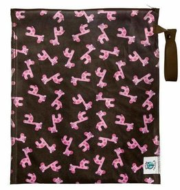 Planetwise - Lite Wet Bag Medium - Pink Giraffe