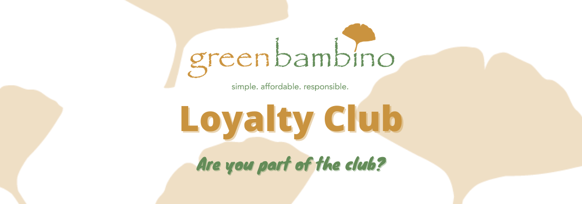 January 2021 - Green Bambino Loyalty Club Perk