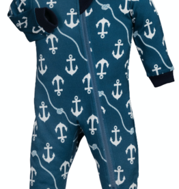 ZippyJamz Zippyjamz Footless - Ahoy Baby