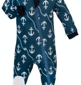 ZippyJamz Zippyjamz Footed - Ahoy Baby