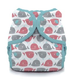 Thirsties Thirsties - Duo Swim Diaper - Whales - Size 2