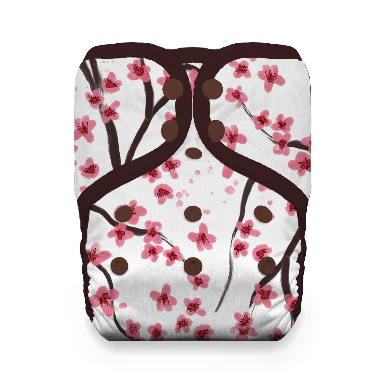 Thirsties Thirsties - One-Size Natural Pocket Snap - Sakura