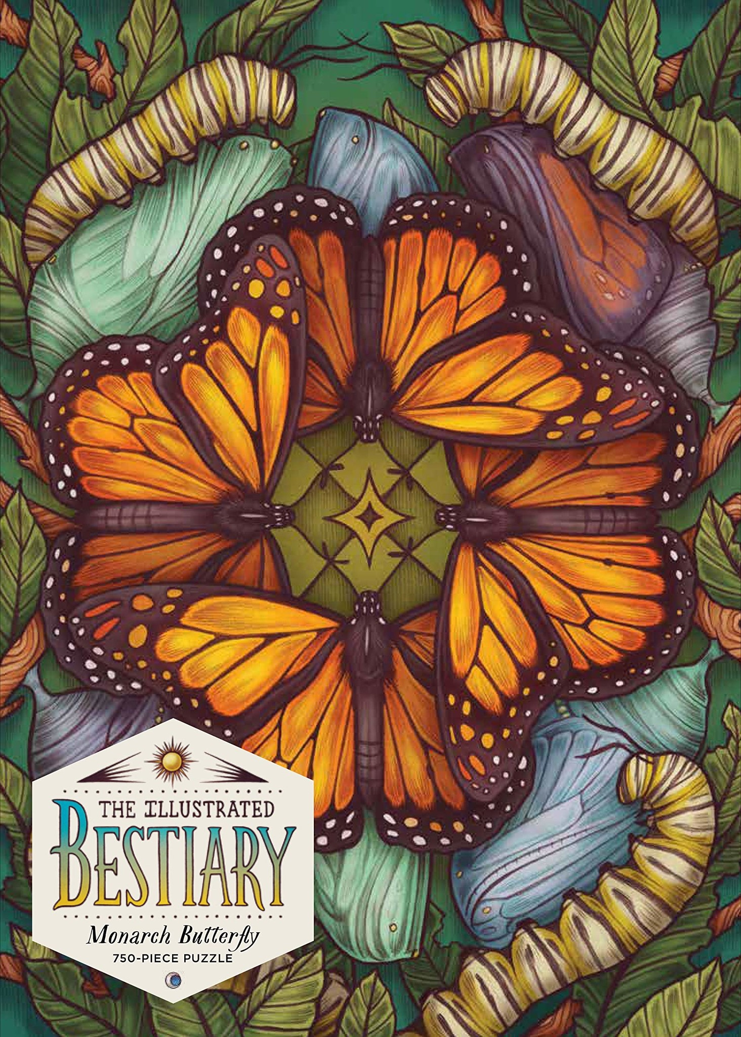 Monarch Butterfly Puzzle - 750pc