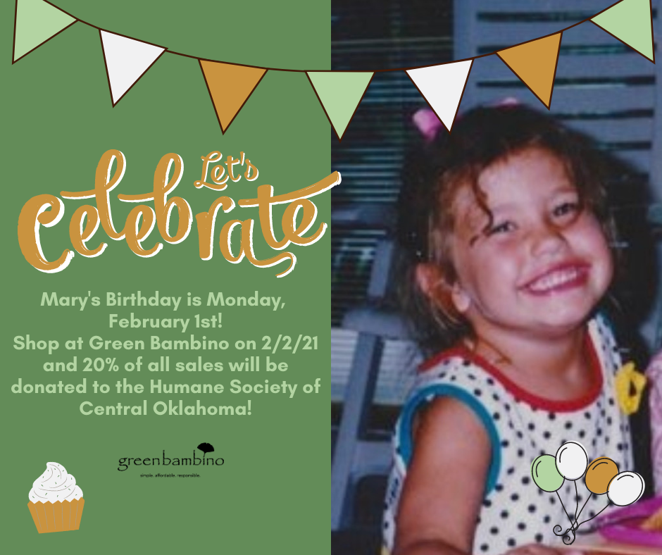 Green Bambino Celebrates Employee's Birthday by Donating to The Oklahoma Humane Society