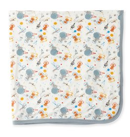 Magnetic Me Magnetic Me - Modal Swaddle Blanket - Astro Pups
