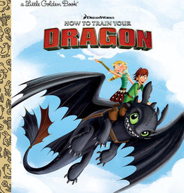 Little Golden Book - How to Train Your Dragon