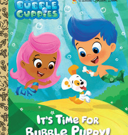 Little Golden Book - It's Time for Bubble Puppy