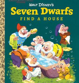 Little Golden Book -  Seven Dwarfs Find a House
