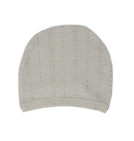 Loved Baby Loved Baby - Pointelle Hat - Stone