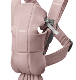 BabyBjorn BabyBjorn - Baby Carrier Mini  - Cotton - Old Rose