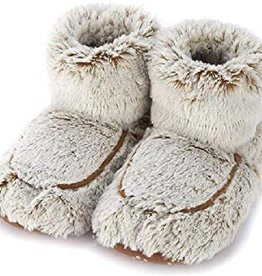 Warmies Warmies - Spa Therapy Boots - Marshmallow Brown