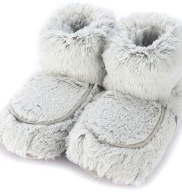 Warmies Warmies  - Spa Therapy Boots - Marshmallow Grey