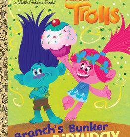 Little Golden Book - Trolls - Branch's Birthday