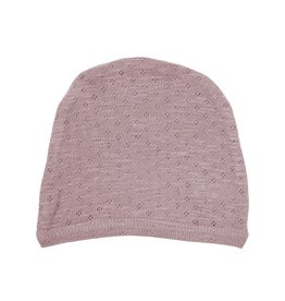 Loved Baby - Pointelle Hat - Thistle