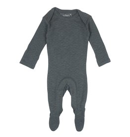 Loved Baby Loved Baby - Pointelle Footie -  Moonstone