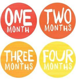 Rainbow Spectrum Monthly Baby Stickers