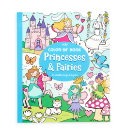 Ooly Princesses & Fairies Coloring  Book
