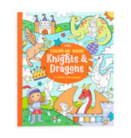 Ooly Knights & Dragons Coloring Book