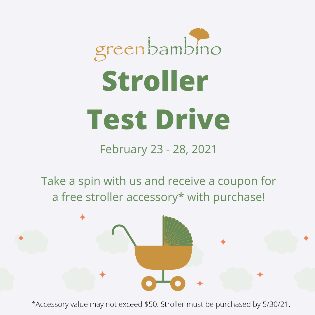 February 2021 Stroller Test Drive Event