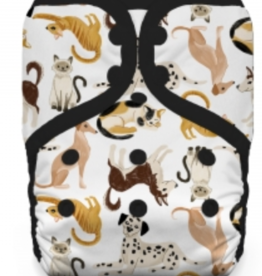 Thirsties Thirsties - One Size Pocket Diaper Snap - Pawsitive Pals