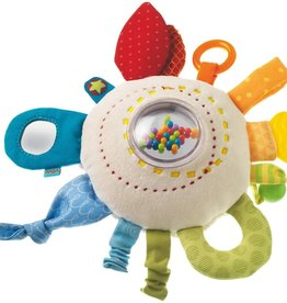 Haba - Rainbow Round Teether Cuddly