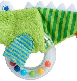 Haba - Crocodile Fabric Clutch Toy