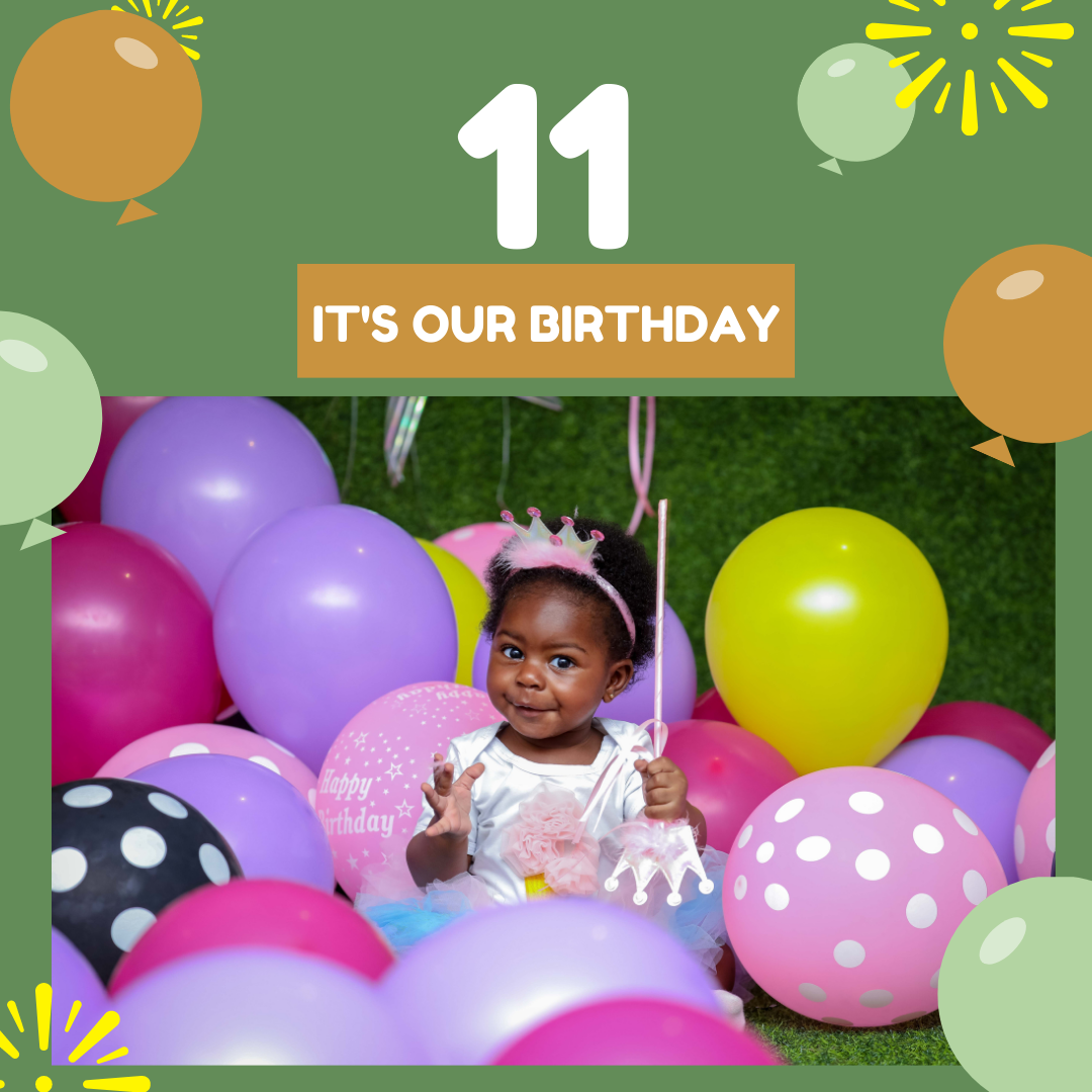It's our 11th Birthday!