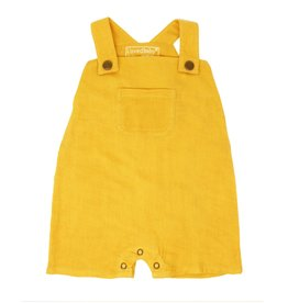 Loved Baby Loved Baby - Organic Muslin Overall - Saffron